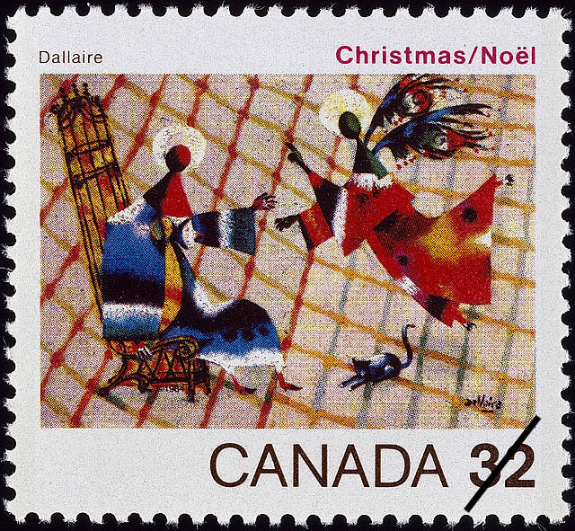 The Annunciation, Dallaire Canada Postage Stamp