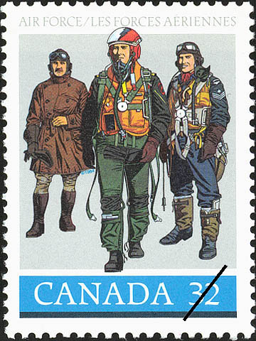 Air Force Canada Postage Stamp | Canadian Forces