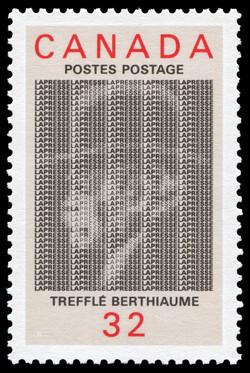 Treffle Berthiaume, La Presse Canada Postage Stamp