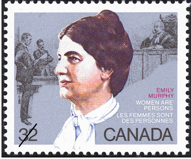 Emily Murphy, Women are Persons Canada Postage Stamp
