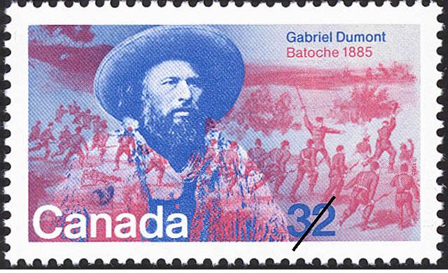 Gabriel Dumont, Batoche, 1885 Canada Postage Stamp