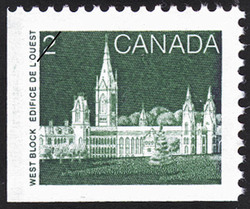 West Block Canada Postage Stamp | Parliament Buildings