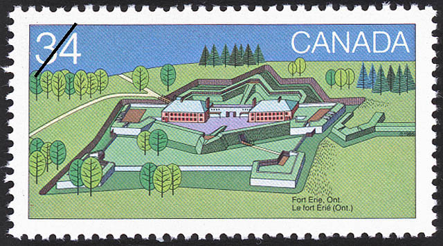 Fort Erie, Ont. Canada Postage Stamp