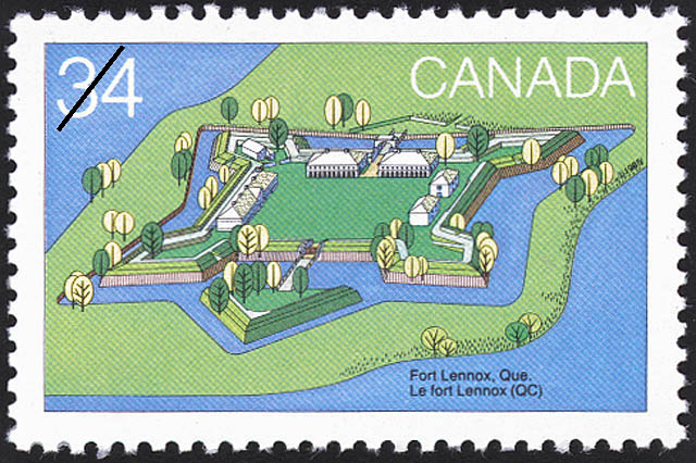 Fort Lennox, Que. Canada Postage Stamp