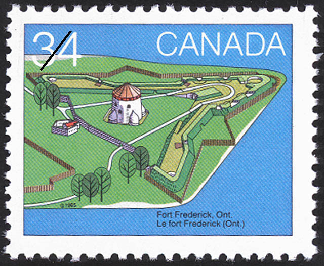 Fort Frederick, Ont. Canada Postage Stamp | Canada Day, Forts across Canada
