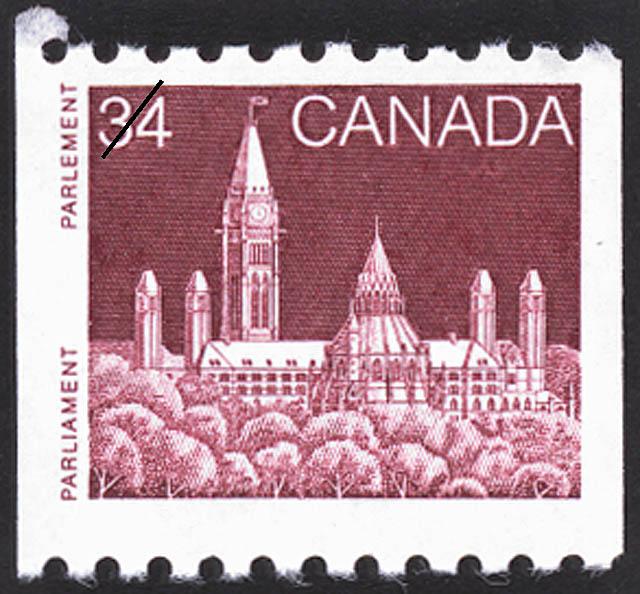 Parliament Canada Postage Stamp