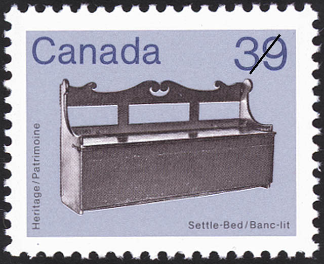 Settle-Bed Canada Postage Stamp
