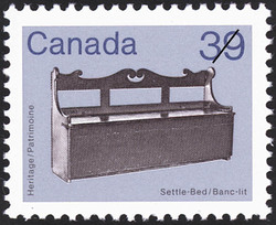 Settle-Bed Canada Postage Stamp | Heritage Artifacts