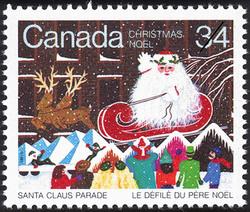 Santa Claus Parade Canada Postage Stamp | Christmas, Santa Claus Parade