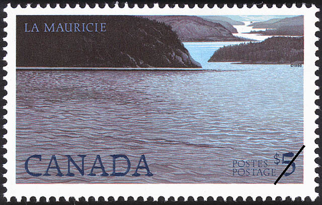 La Mauricie Canada Postage Stamp