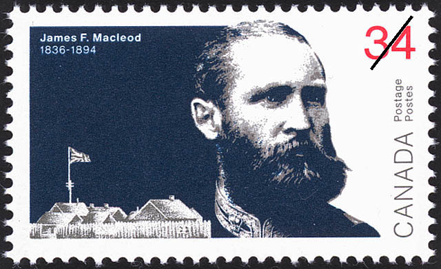 James F. Macleod Canada Postage Stamp