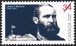 James F. Macleod Canada Postage Stamp | The Peacemakers