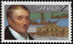 John Molson, 1763-1836 Canada Postage Stamp