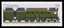 Canadian Locomotives, 1925-1945 Canadian Postage Stamp Series