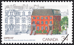 Post Office, Toronto, M5A 1N0  Postage Stamp