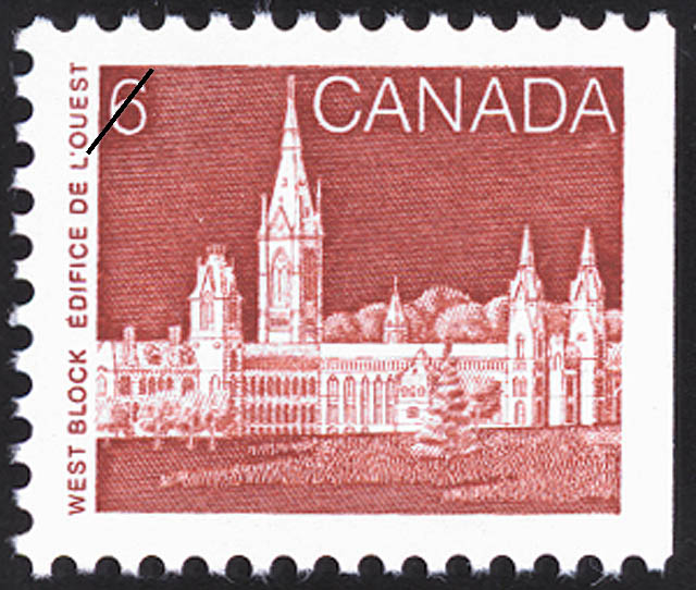 West Block Canada Postage Stamp