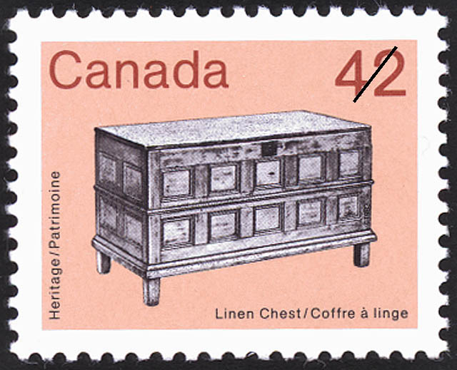 Linen Chest Canada Postage Stamp