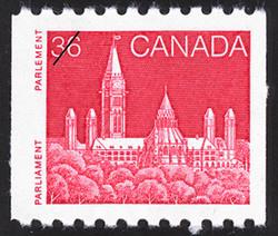 Parliament Canada Postage Stamp | Parliament Buildings