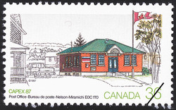 Post Office, Nelson-Miramichi, E0C 1T0  Postage Stamp