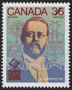 Canada Day - Science and Technology, Canadian Innovations in Communications Canadian Postage Stamp Series