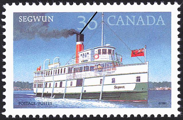 Segwun Canada Postage Stamp | Steamships