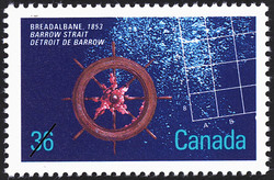 Breadalbane, 1853, Barrow Strait Canada Postage Stamp | Historic Shipwrecks