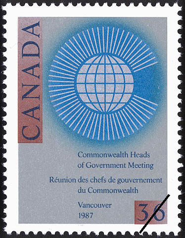 Commonwealth Heads of Government Meeting, Vancouver, 1987 Canada Postage Stamp