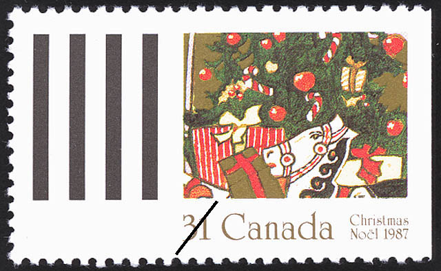 Christmas Tree Canada Postage Stamp | Christmas, Plants