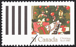 Christmas, Plants Canadian Postage Stamp Series