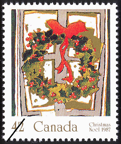 Holly Canada Postage Stamp | Christmas, Plants