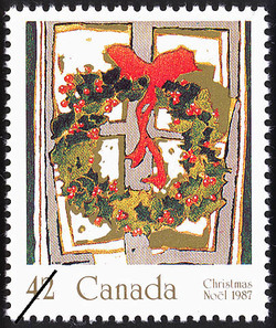 Holly Canada Postage Stamp