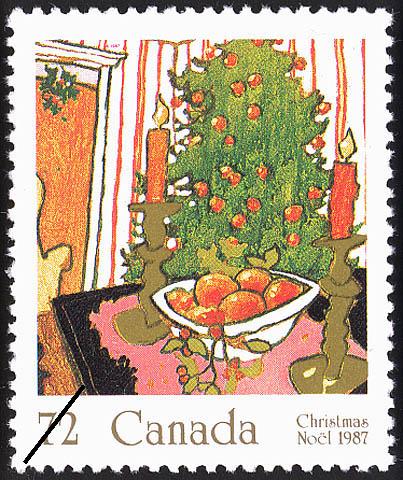 Mistletoe Canada Postage Stamp