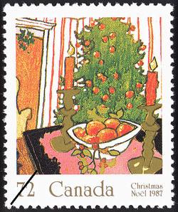 Mistletoe Canada Postage Stamp | Christmas, Plants