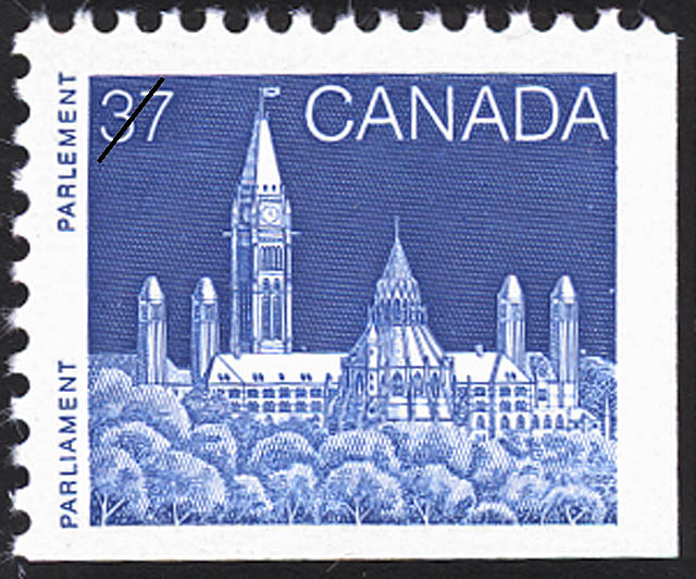 Parliament Canada Postage Stamp