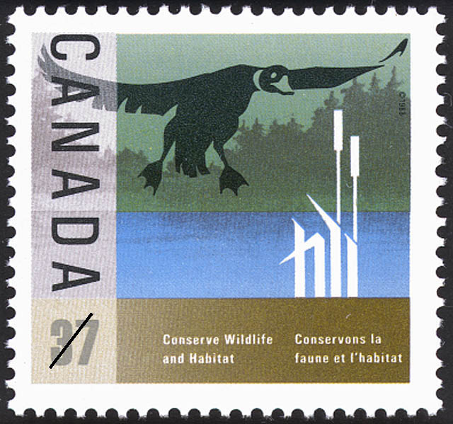 Duck Canada Postage Stamp