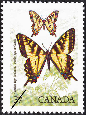 Canadian Tiger Swallowtail Canada Postage Stamp | Butterflies of Canada