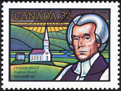 Charles Inglis Anglican Church Canada Postage Stamp