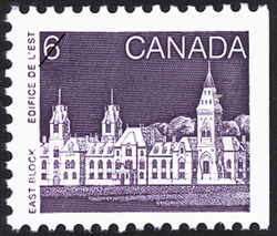 East Block Canada Postage Stamp | Parliament Buildings