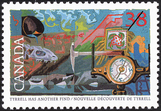 Tyrrell has another Find Canada Postage Stamp