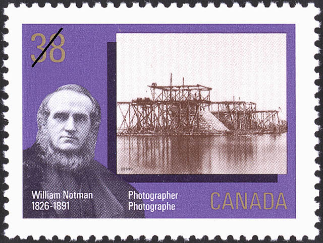 William Notman, Photographer, 1826-1891 Canada Postage Stamp | Canada Day, Early Canadian Photographers