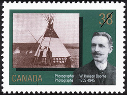 W. Hanson Boorne, Photographer, 1859-1945 Canada Postage Stamp | Canada Day, Early Canadian Photographers