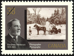 Alexander Henderson, Photographer, 1831-1913 Canada Postage Stamp | Canada Day, Early Canadian Photographers