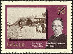 Jules-Ernest Livernois, Photographer, 1851-1933 Canada Postage Stamp | Canada Day, Early Canadian Photographers