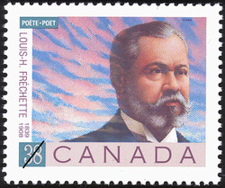 Louis-H. Frechette, 1839-1908 Canada Postage Stamp | Poets