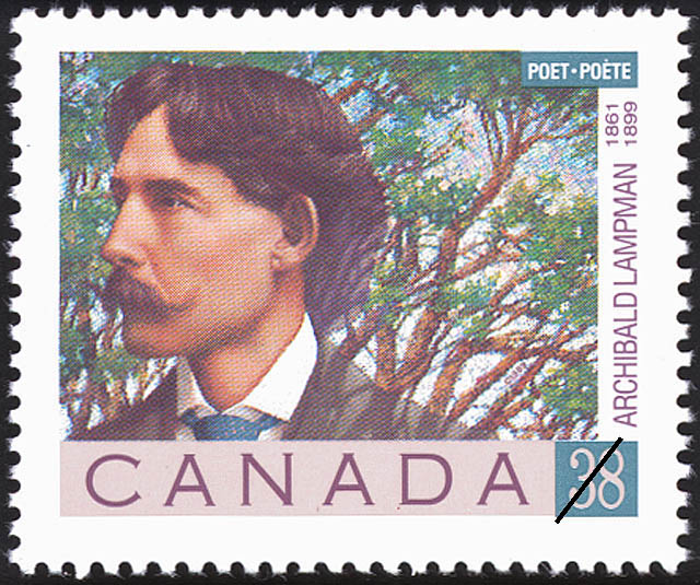 Archibald Lampman, 1861-1899 Canada Postage Stamp