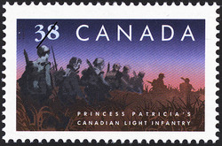 Princess Patricia's Canadian Light Infantry Canada Postage Stamp | Regiments
