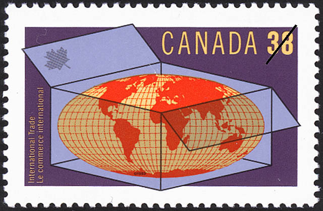 International Trade Canada Postage Stamp