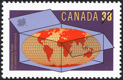 International Trade Canada Postage Stamp