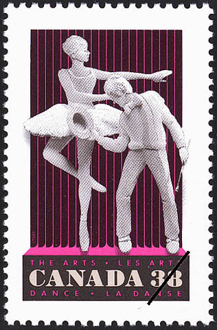 Dance Canada Postage Stamp | The Arts