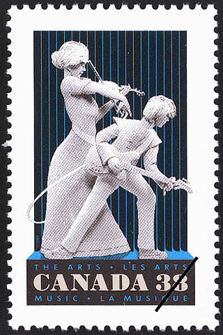 Music Canada Postage Stamp